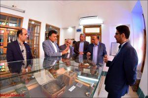بازدید از موزه مردم شناسی نجف آباد