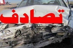 تصادف زنجیره ای در محور نجف آباد – تیران