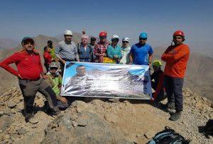 صعود به قله 3813 متری کول جنو