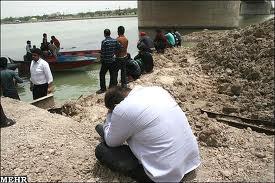 غرق شدن در زاینده رود