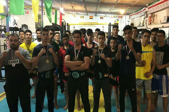 5 مدال برای تیم کیک بوکسینگ شهرستان نجف آباد کسب شد