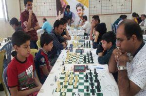 مسابقات شطرنج کشوری بزرگداشت شهید محسن حججی