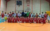 بازی دوستانه تیم مینی بسکتبال نجف آباد برگزار شد