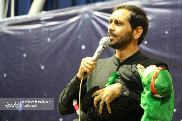 مراسم شیرخوارگان حسینی نجف آباد