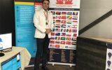 ۳ مقام جهانی برای عضو هیأت علمی دانشگاه آزاد نجف آباد
