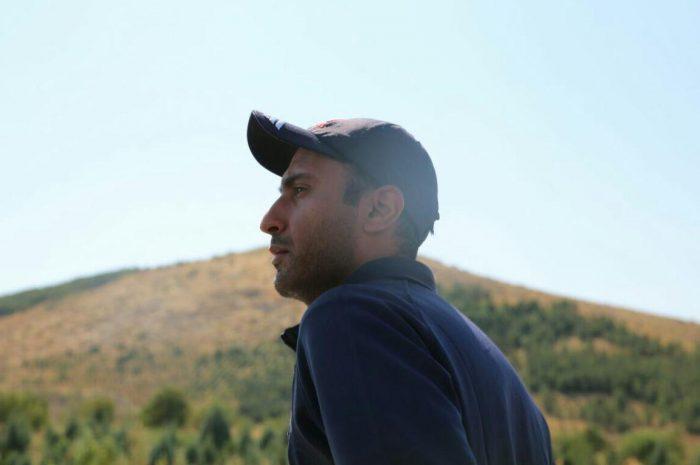 جوان اراکی مسیر ۲۷۵ کیلومتری اراک تا منزل شهید حججی