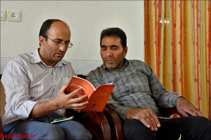 دیدار مدیریت شهری نجف آباد با راوی «معجزه شیلر»