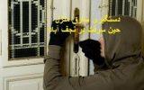 دستگیری سارق منزل حین سرقت در نجف آباد