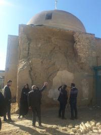 آغاز مرمت مسجد جوزدان شهرستان نجف آباد
