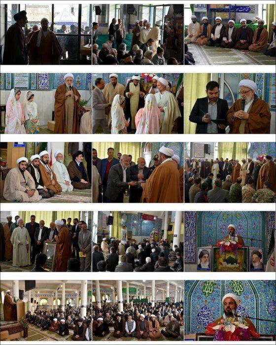 استقبال و معارفه چهارمین امام جمعه ویلاشهر