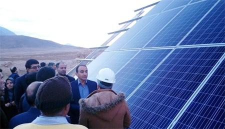 افتتاح پروژه آبرسانی باغات شهرستان تیران و کرون