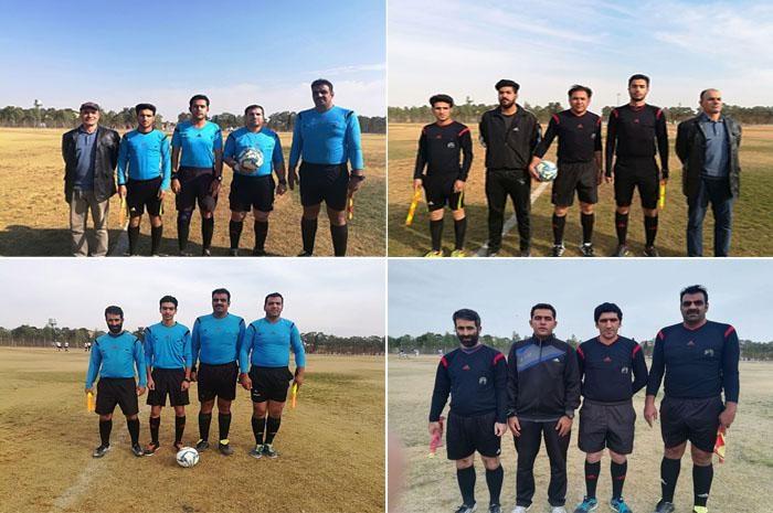 برگزاری مسابقات فوتبال لیگ بزرگسالان شهرستان نجف آباد