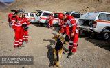 مانور سگ های زنده یاب آلمانی در نجف آباد + تصاویر و کلیپ