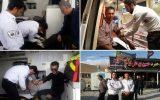 حوادث اصفهان ۴۰ مصدوم و یک فوتی داشت