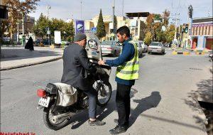 ادامه طرح آمارگیری ترافیک شهرداری نجف آباد با مشارکت ۱۲۶ آمارگیر + تصاویر