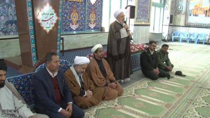 معرفی امام جمعه جدید شهر جوزدان
