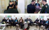 دیدار شهردار نجف آباد با فرمانده ناحیه مقاومت بسیج نجف آباد