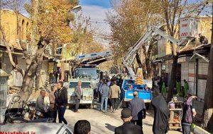 قلب بازار نجف آباد تکان خورد + تصاویر