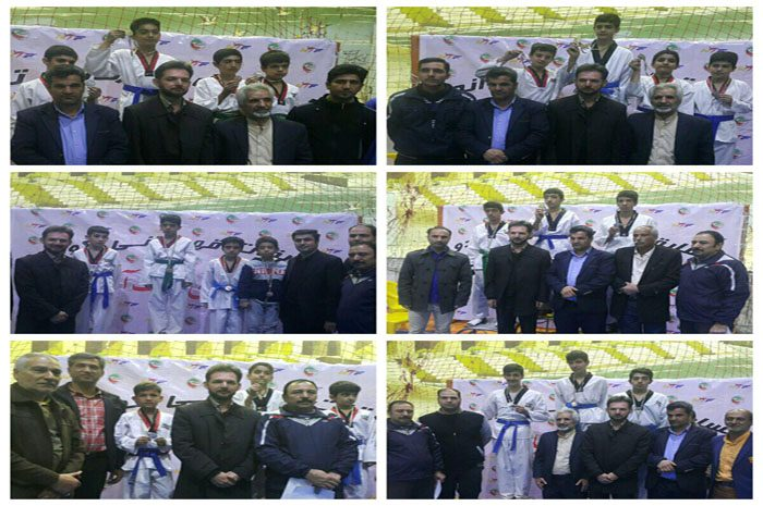 مسابقات تکواندو قهرمانی شهرستان نجف آباد برگزار شد