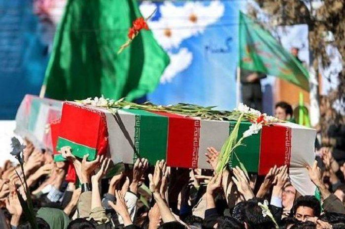 پیکر جانباز شهید محسن قادری در نجف آباد تشییع شد