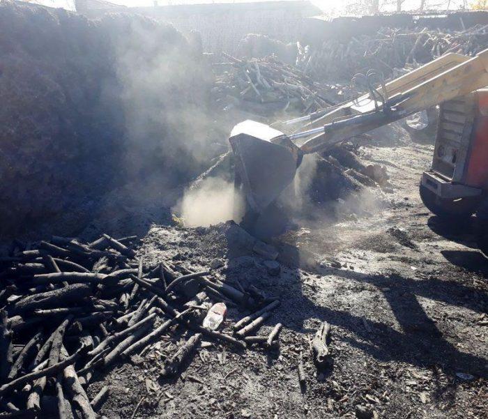 ۴ حلقه چاه تولید ذغال در نجف آباد تخریب شد