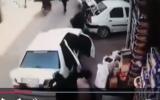 زیر گرفتن دو شهروند در نجف آباد بر اثر خطای انسانی + فیلم